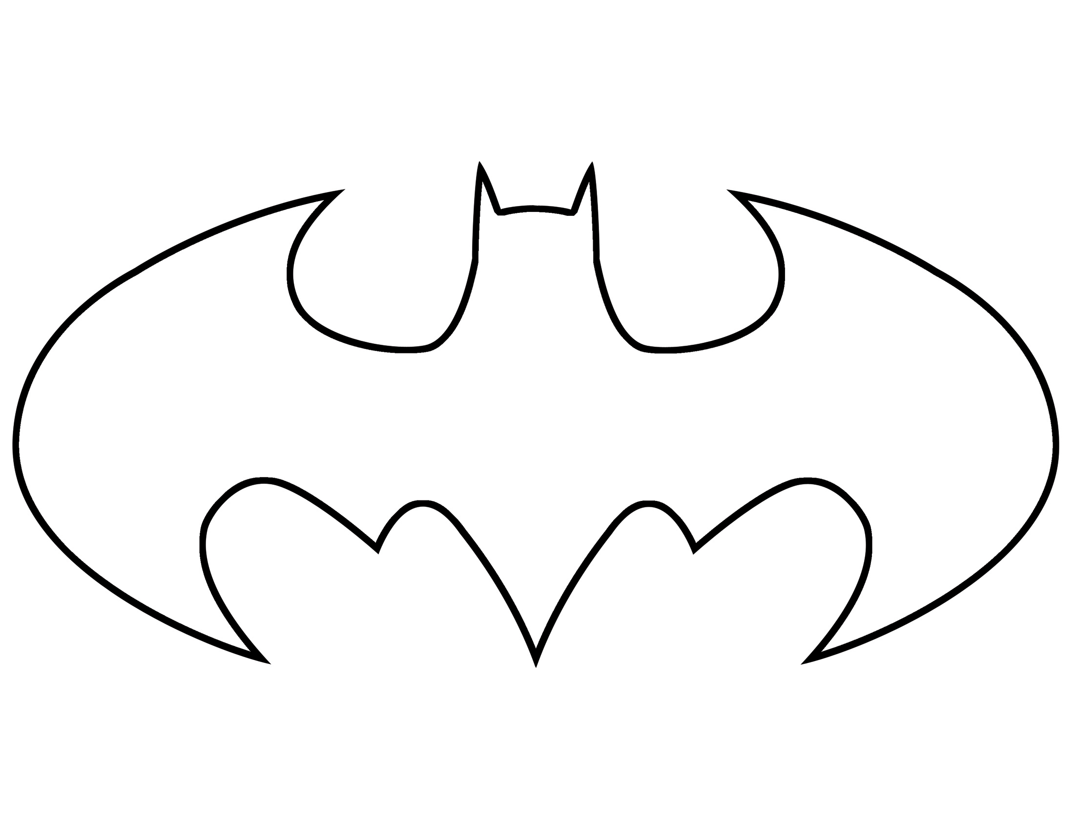 Batman Logo - ClipArt Best .