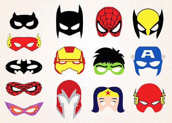 Batman Mask Clipart-Clipartlook.com-570
