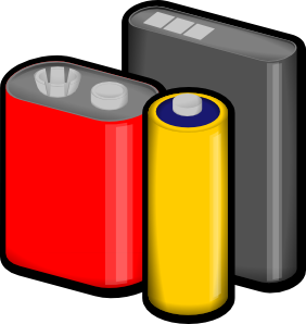 Batteries Clip Art - Batteries Clipart