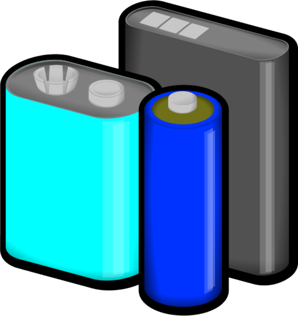 Battery clipart hostted - Batteries Clipart