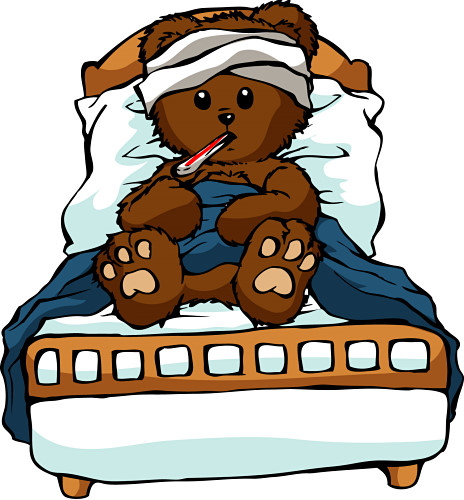 Image result for sick child pictures cartoon