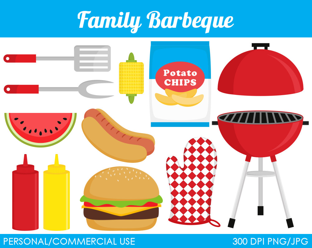 Bbq barbeque clip art free image