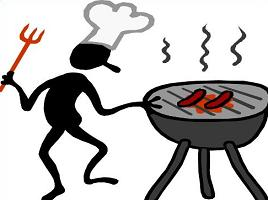 BBQ grill and barbecuing