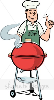 Bbq Grill Clipart Black And ... Cliparthut
