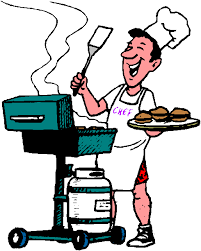 Bbq Party Clipart Kid