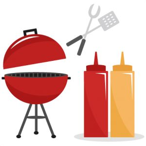 BBQ Set SVG cutting files .