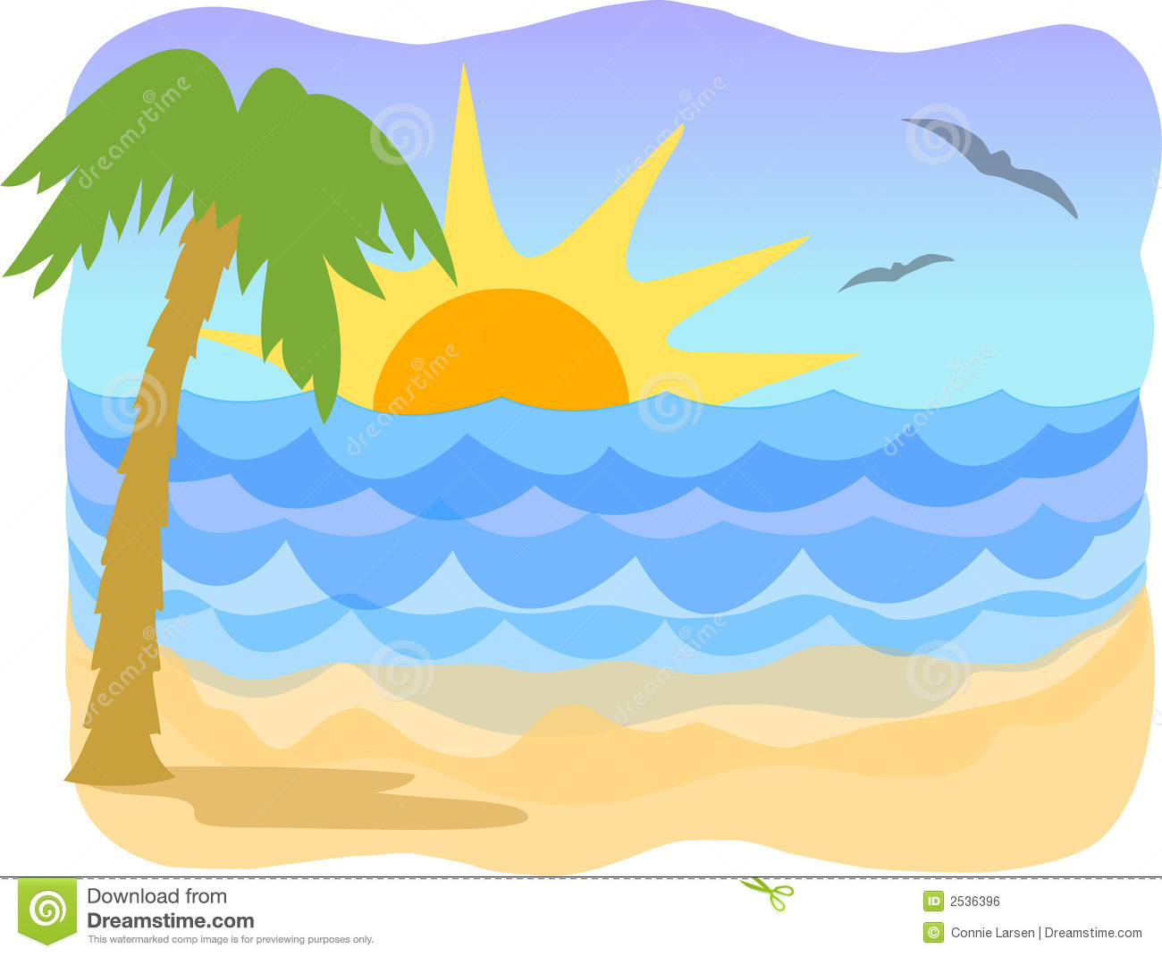 beach clipart-beach clipart-17