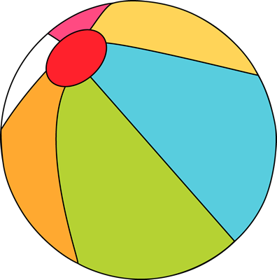 Beach Ball. Beach Ball Clip Art ..