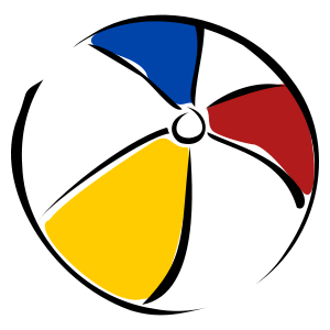 Beach Ball Clipart-beach ball Clipart-1