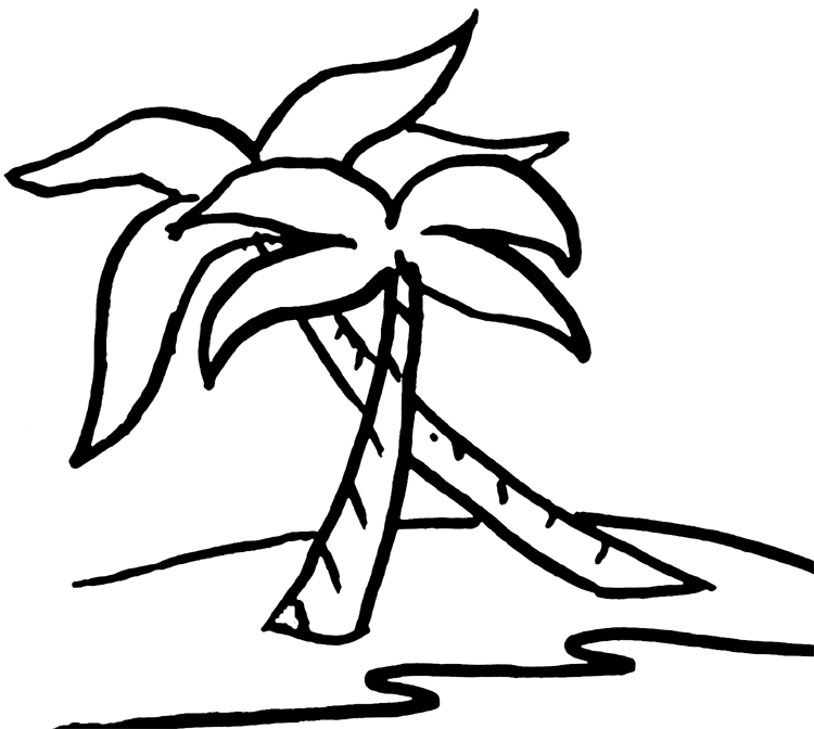 Beach black and white free beach clipart images