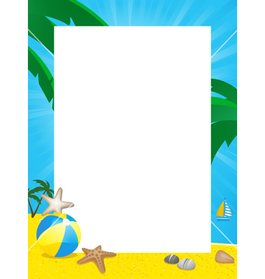 Beach Border Clip Art Gallery For Beach -Beach Border Clip Art Gallery For Beach Border Clip-19