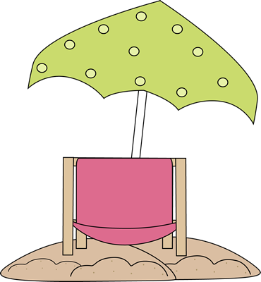Beach Chair Under Beach Umbrella Clip Art Beach Chair Under Beach