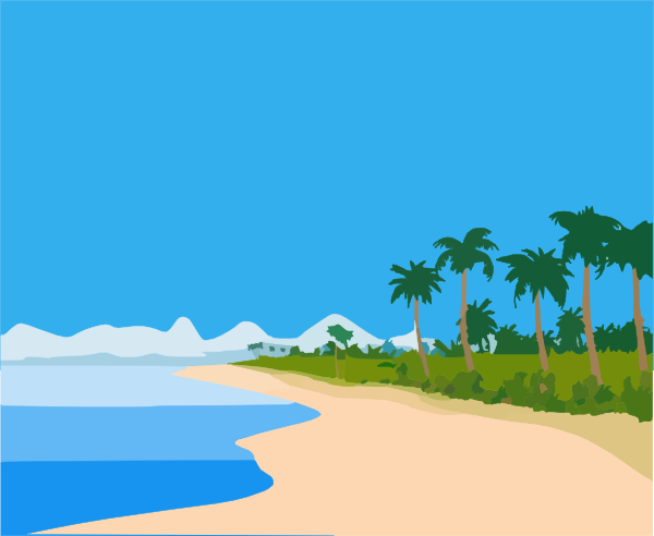 beach clipart-beach clipart-14