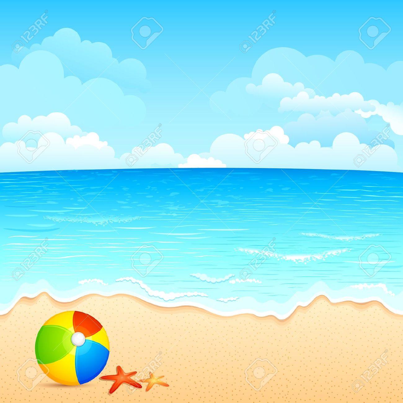Beach Clipart Free Clipart .-Beach clipart free clipart .-6