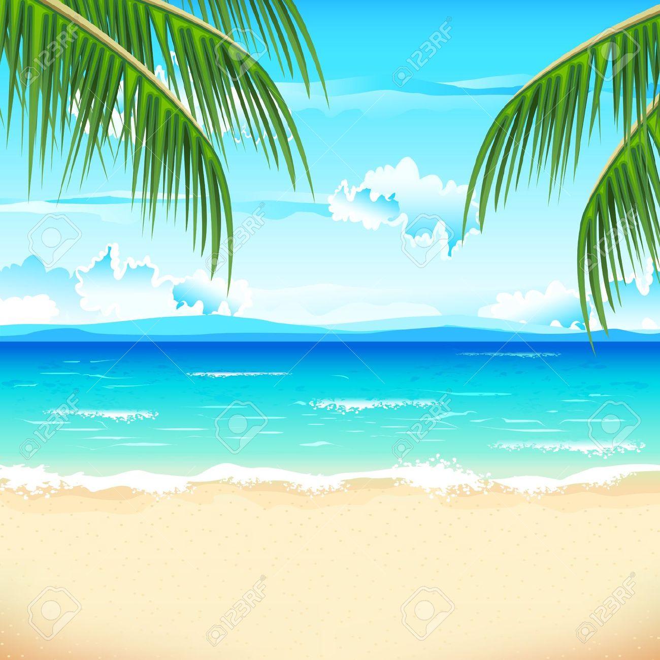 Beach Scene Stock Illustrations Cliparts-Beach Scene Stock Illustrations Cliparts And Royalty Free Beach-6