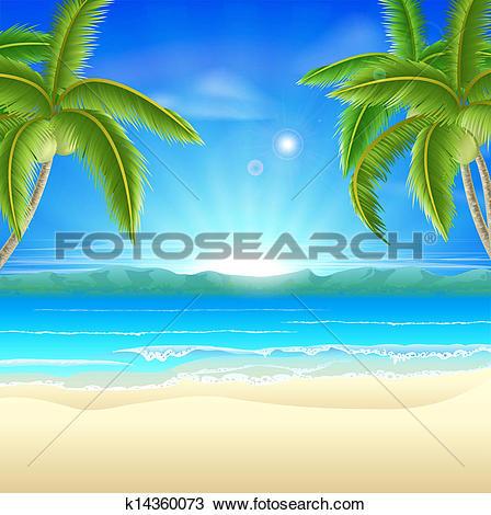 Beach Summer Holiday Background-Beach summer holiday background-7