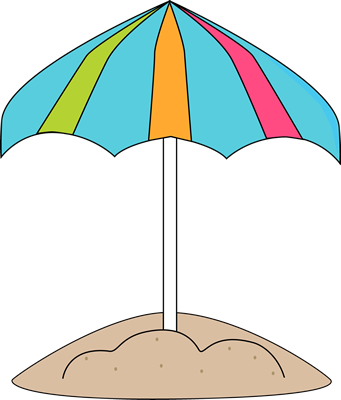 Beach Umbrella Clip Art ..