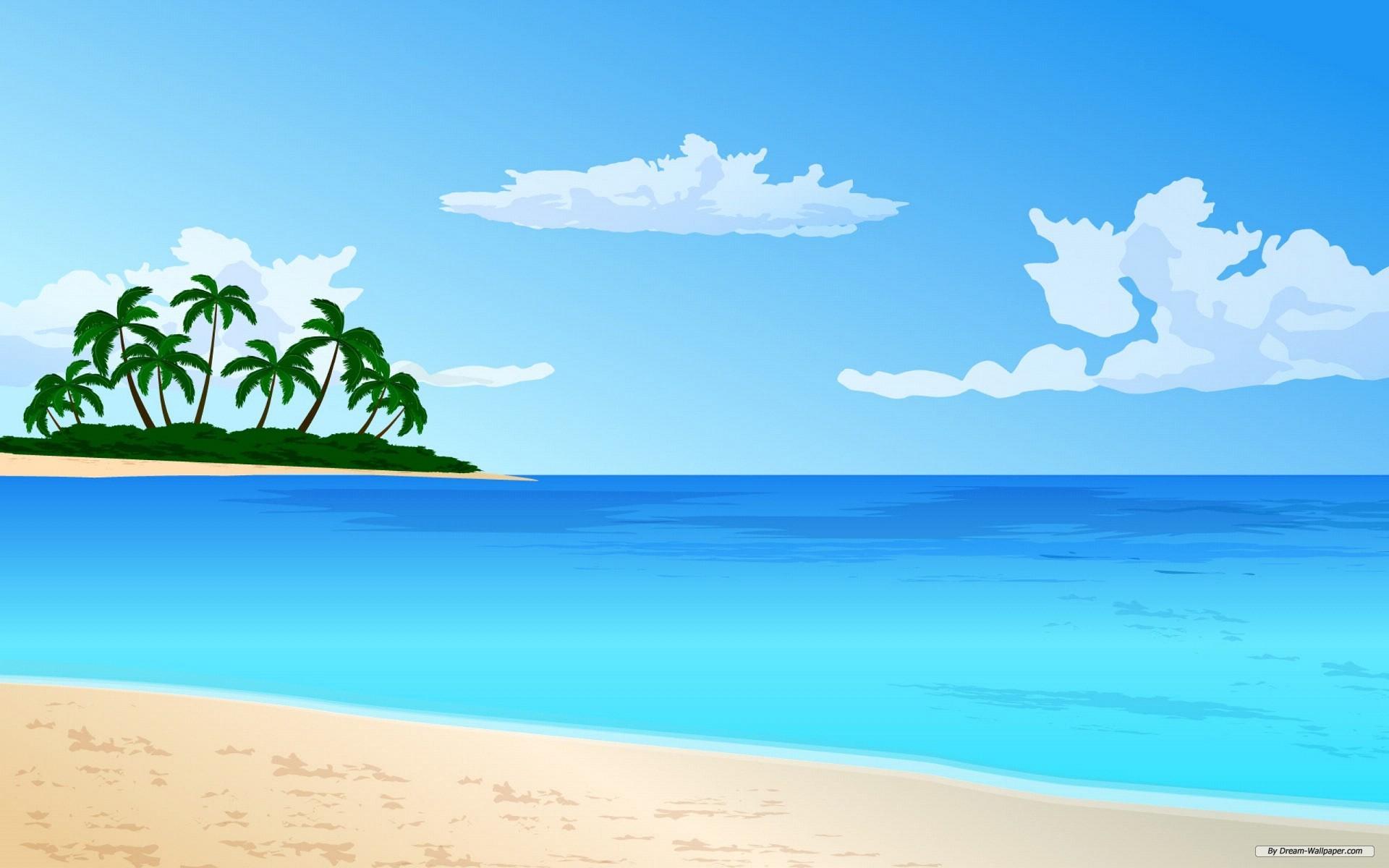 Beach Vector Art Clipart-Beach vector art clipart-8