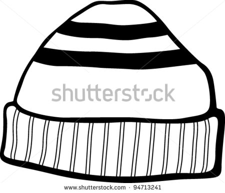 beanie hat - Wooly Hat Clipart