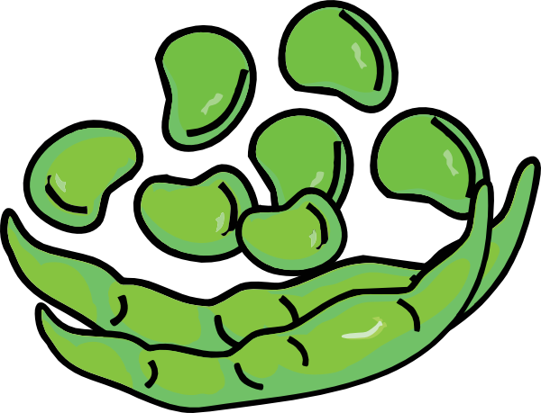 Beans And Pod Clip Art At Clker Com Vect-Beans And Pod Clip Art At Clker Com Vector Clip Art Online Royalty-12