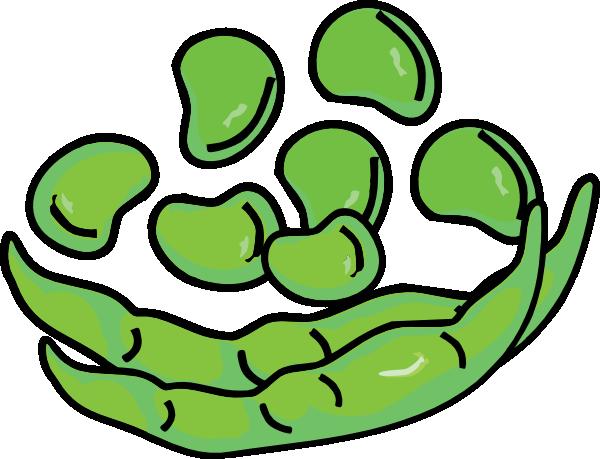 Beans And Pod Clip Art At Clker Com Vector Clip Art Online Royalty