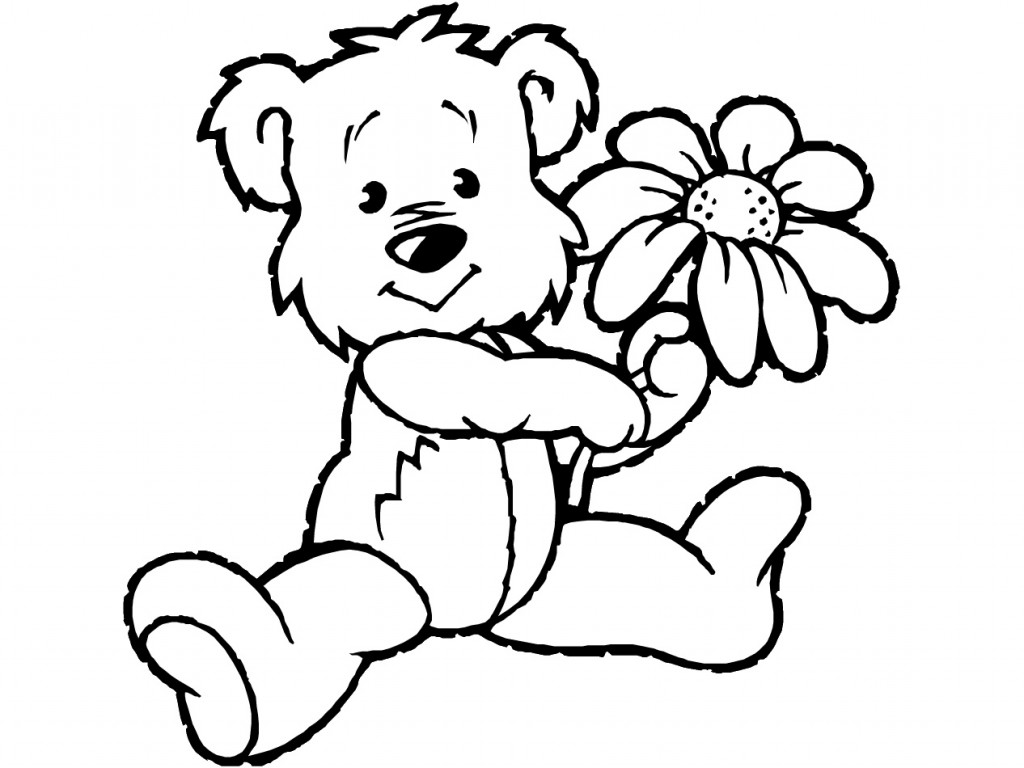 Bear black and white teddy bear clipart black and white clipartall