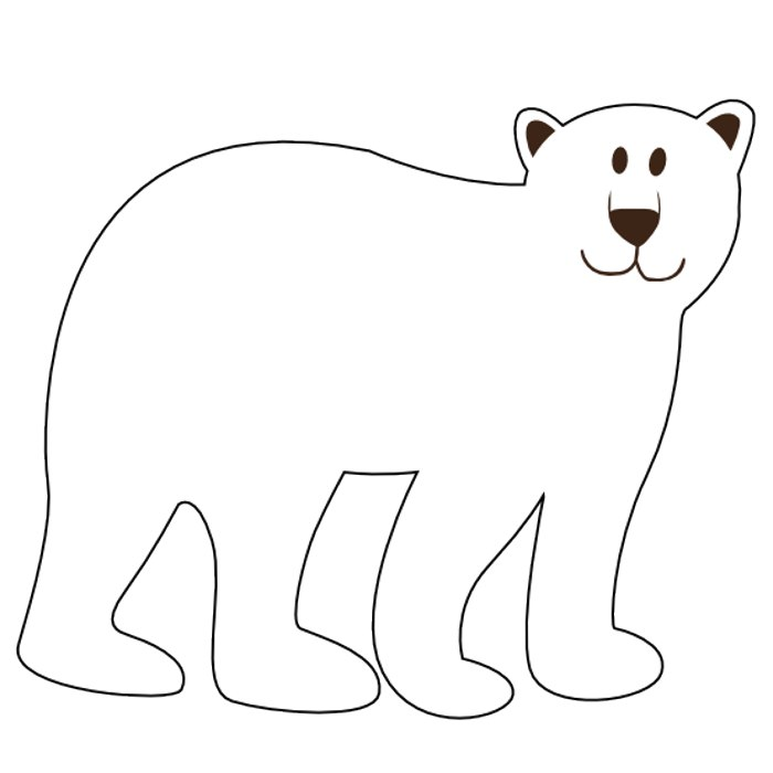 Bear Clipart Black And White-Bear Clipart Black And White-6