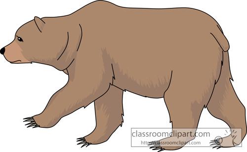 Bear Clipart Grizzly Bear 630 Classroom Clipart
