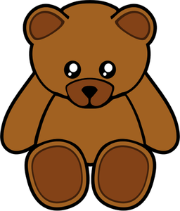 Vector Illustration Of Cute Crying Teddy-Vector illustration of cute crying teddy bear-17