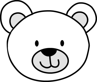 Bear Face Clip Art Cliparts Co