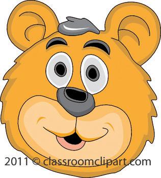 Bear Face Size: 83 Kb