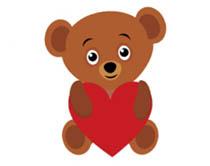 bear holding valentines day heart animat-bear holding valentines day heart animated clipart. Size: 316 Kb-18