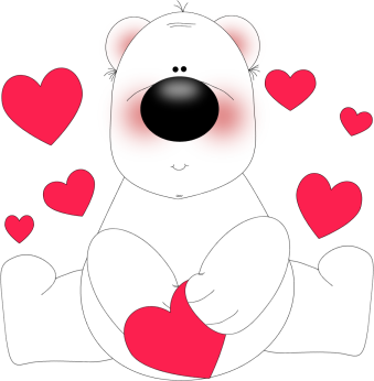 Bear In Love - Love Clipart Images