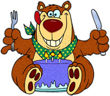Bear On His Birthday-bear on his birthday-2