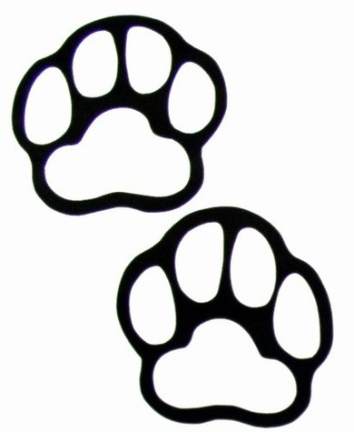 Bear paws clip art clipart free to use resource