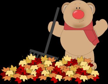 Bear Raking Leaves-Bear Raking Leaves-0