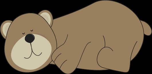 Bear Sleeping - Bear Clipart Images