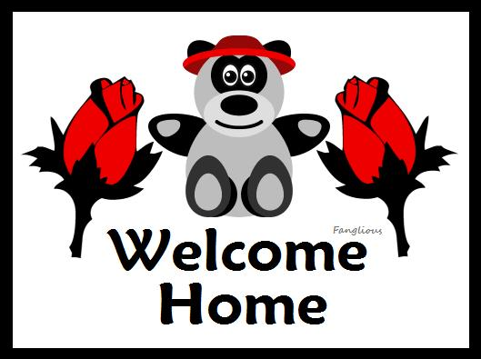 Bear Welcome Home Clipart