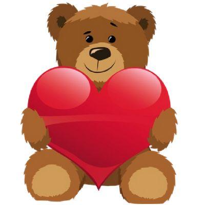 Bears With Love Hearts Cartoon Clip Art -Bears With Love Hearts Cartoon Clip Art - Bears Cartoon Clip Art-5