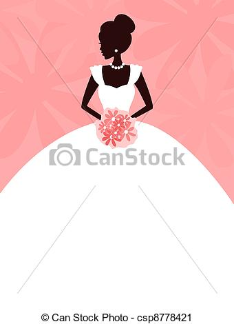 ... Beautiful Bride - Illustration of a young elegant bride... Beautiful Bride  Clipartby ...