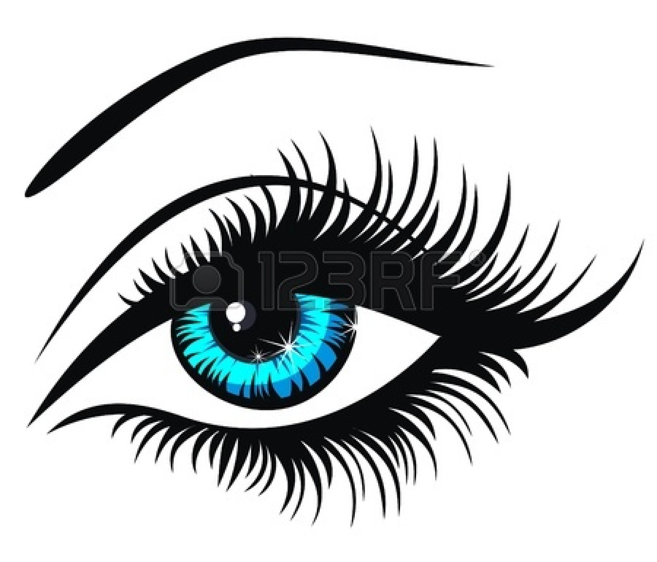 Beautiful Eyes Clipart