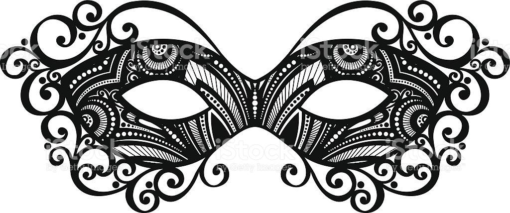 Beautiful Masquerade Mask .