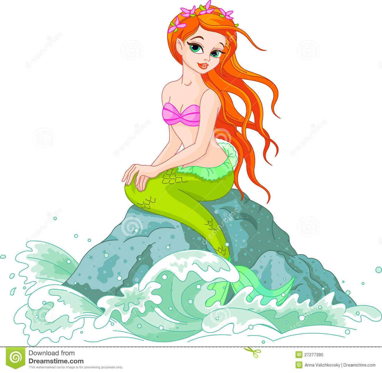Beautiful Mermaid Stock Photo-Beautiful Mermaid Stock Photo-0