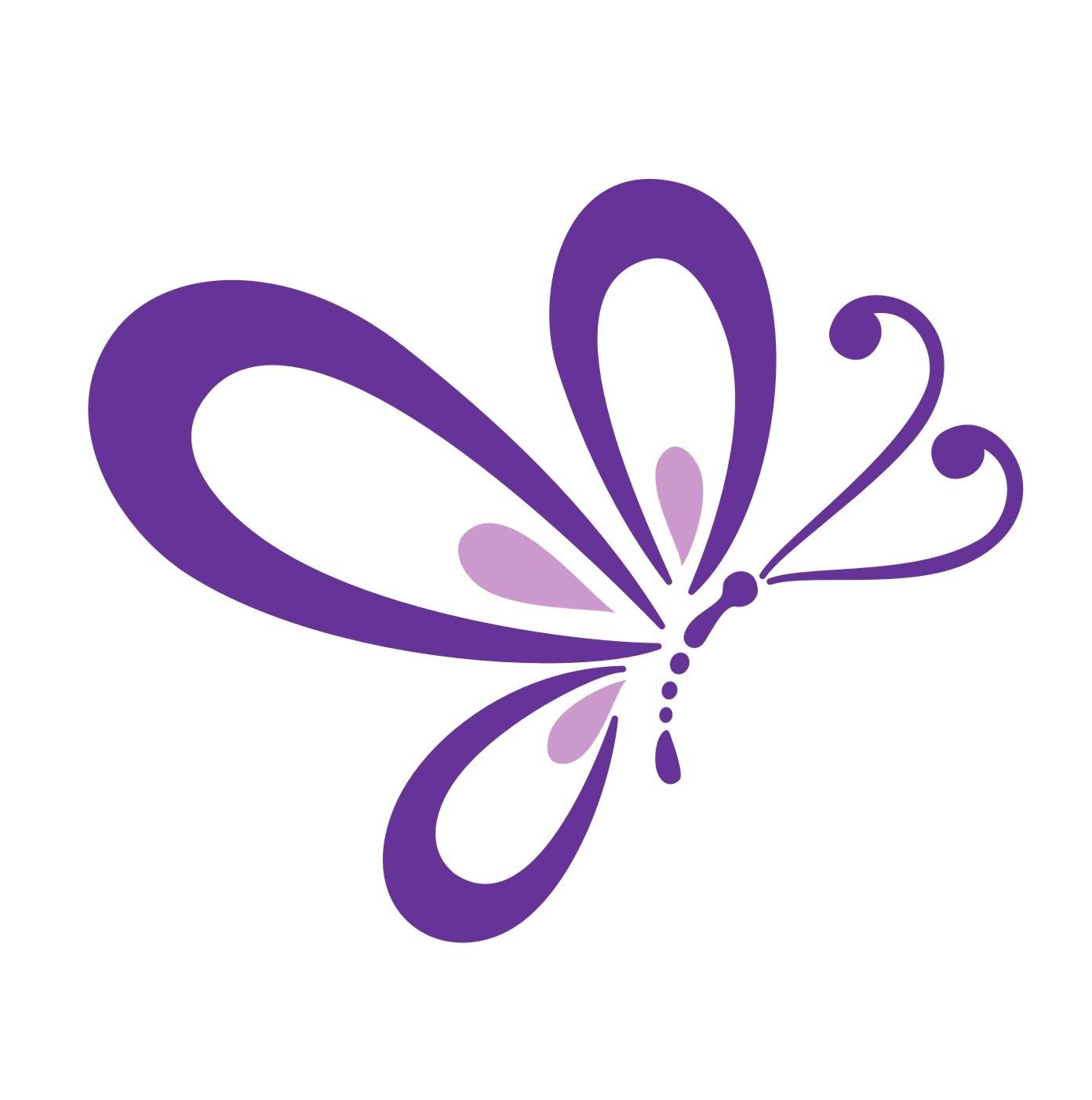 Beautiful Purple Butterfly .-Beautiful Purple Butterfly .-0