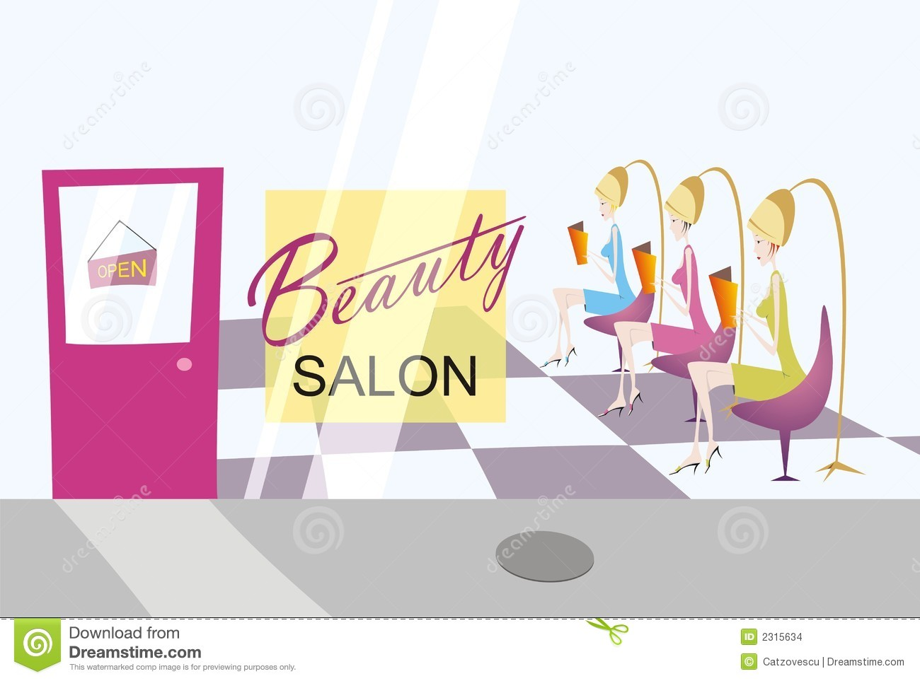 Beauty Salon Clipart