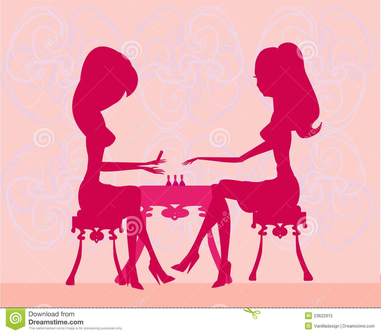 Beauty Salon Clip Art Women In A Beauty -Beauty Salon Clip Art Women In A Beauty Salon-7
