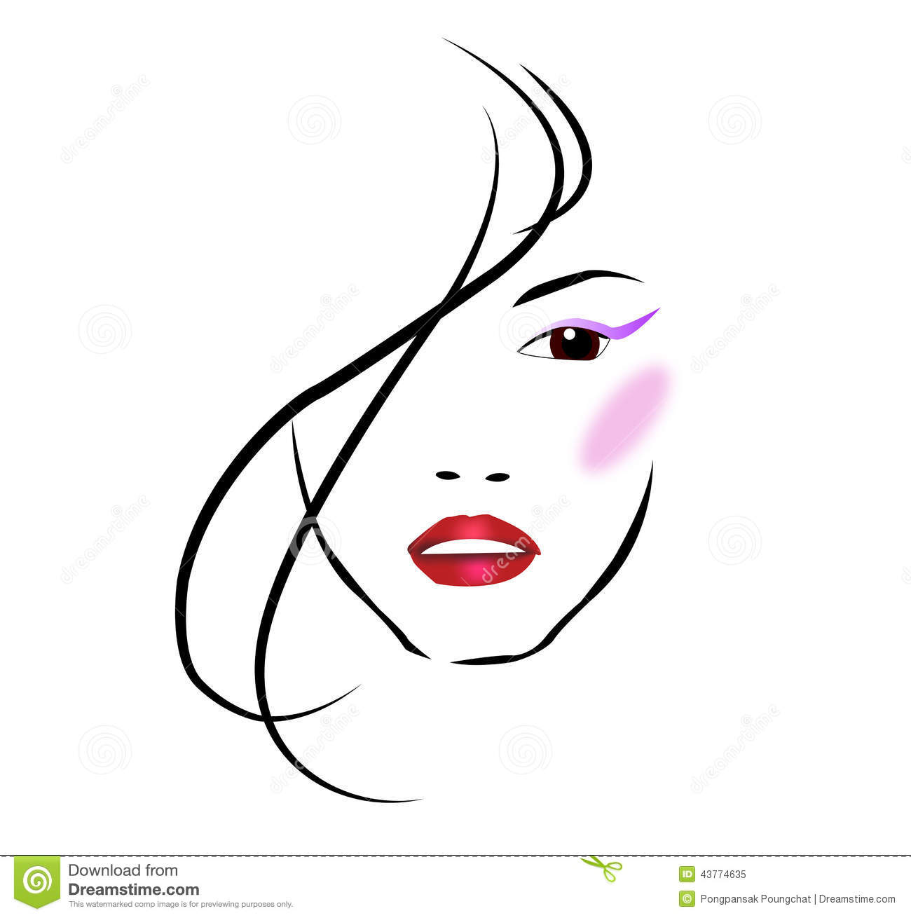 Beauty Salon Stock Vector Image 43774635