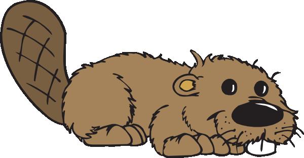 Cartoon Beaver Clip Art