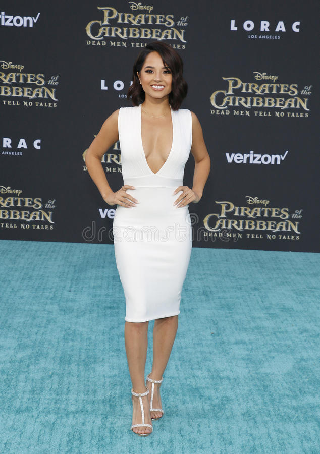 Becky G at the U.S. premiere of `Pirates Of The Caribbean: Dead Men Tell No  Tales` held at the Dolby Theatre in Hollywood, USA on May 18, 2017.
