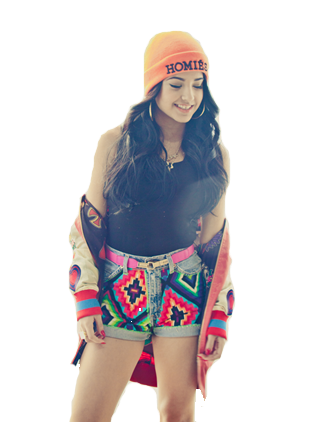 Becky G PNG by CatyBelieber ClipartLook.com